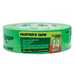 PAINTERS TAPE GREEN 36mm x 50m (PACK of 10)