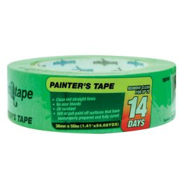 PAINTERS TAPE GREEN 36mm x 50m