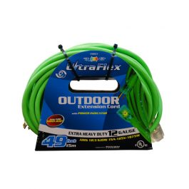 15m 12G Ext. Cord Green