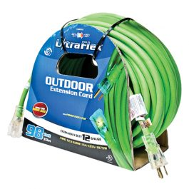 30m 12G Ext. Cord Green