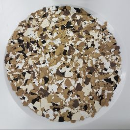 BLENDED COLOURED FLAKES